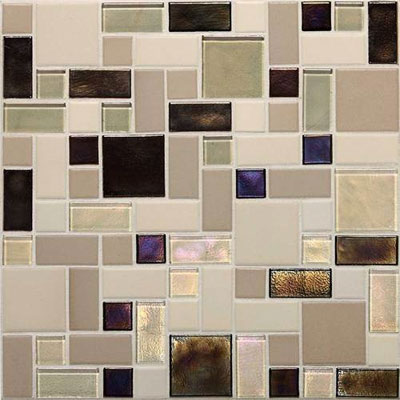 Daltile Keystones Coastal Random Block Sunset Cove Blend CK89 BLRANDPM1P