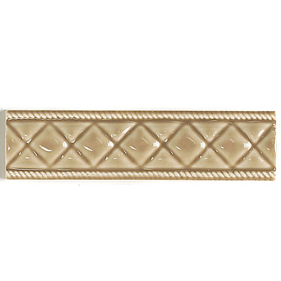 Daltile La Marque Accents Sheer Camel Diamond Bar 2 x 8 LM02 28DECOT1P