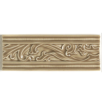 Daltile La Marque Accents Sheer Camel Fluted Border Vine 3 x 8 LM02 38DECOT1P
