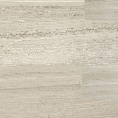 Daltile Limestone 3 x 8 Honed Chenille White Vein Cut Honed