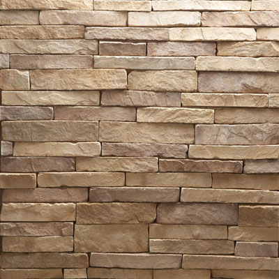 Daltile Manuf. Stone - Mesa Ledge Stack (Box) Autumn Bronze MS70 MLSFLATBX1P
