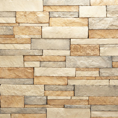 Daltile Manuf. Stone - Mesa Ledge Stack (Box) Dappled Shade MS72 MLSFLATBX1P