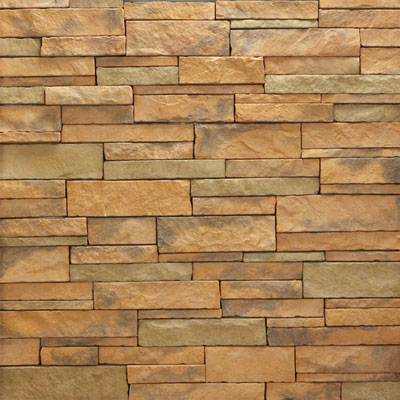 Daltile Manuf. Stone - Mesa Ledge Stack (Box) Golden Dawn MS84 MLSFLATBX1P