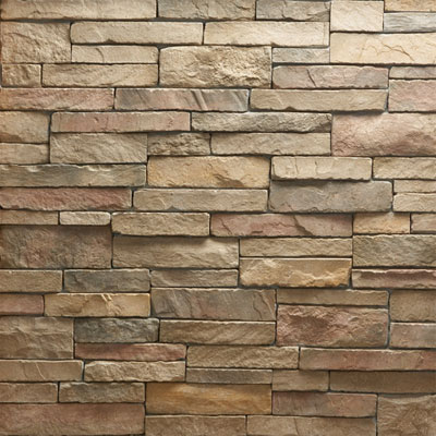 Daltile Manuf. Stone - Mesa Ledge Stack (Box) Harvest Blend MS75 MLSFLATBX1P