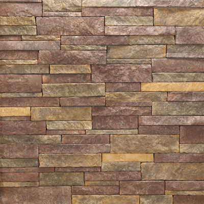 Daltile Manuf. Stone - Mesa Ledge Stack (Box) Roasted Nutmeg MS78 MLSFLATBX1P