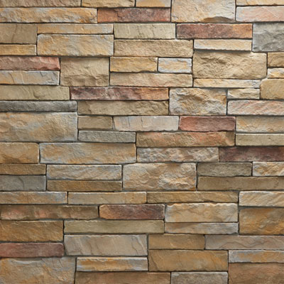 Daltile Manuf. Stone - Mesa Ledge Stack (Box) Tide Water MS79 MLSFLATBX1P