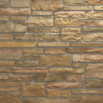 Daltile Manuf. Stone - Sculpted Ledge Stone (Pallet) Harvest Blend MS75 SLFLATPL1P