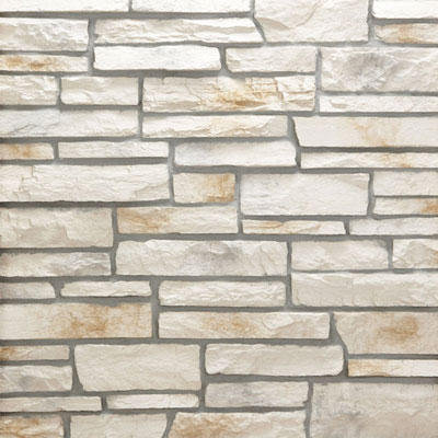 Daltile Manuf. Stone - Sculpted Ledge Stone (Pallet) Oyster Pearl MS71 SLFLATPL1P