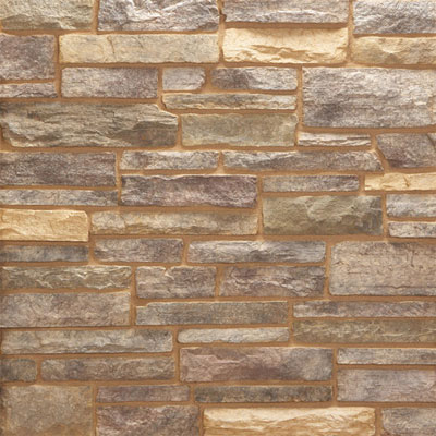 Daltile Manuf. Stone - Sculpted Ledge Stone (Pallet) Roasted Nutmeg MS78 SLFLATPL1P