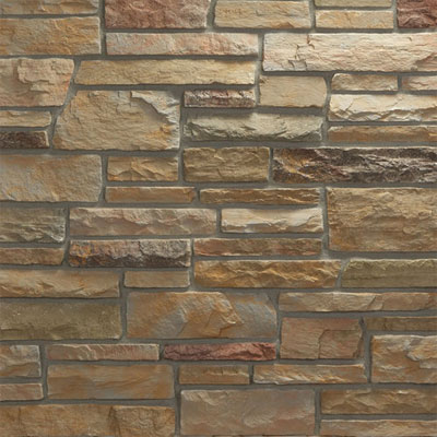 Daltile Manuf. Stone - Sculpted Ledge Stone (Pallet) Tide Water MS79 SLFLATPL1P