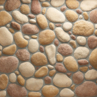 Daltile Manuf. Stone - Velvet River Rock (Box) Autumn Bronze MS70 VRRFLATBX1P