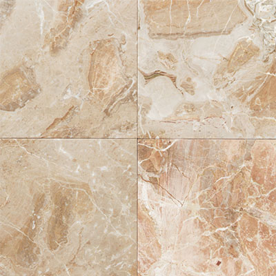 Daltile Marble 12 x 12 Polished Breccia Oniciata Polished