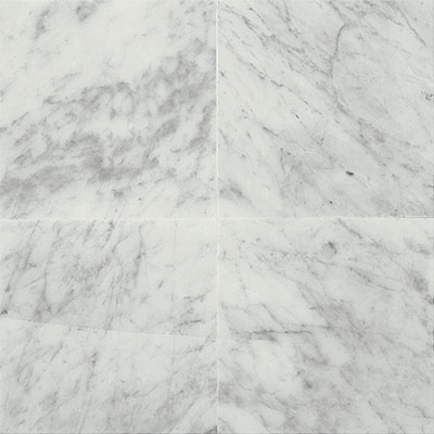 Daltile Marble 12 x 12 Polished Carrara White Polished