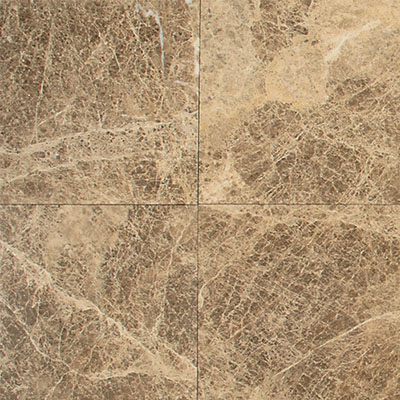 Daltile Marble 12 x 12 Polished Emperador Light Classic