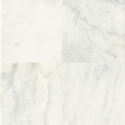 Daltile Marble 12 x 12 Polished First Snow Elegance Polished