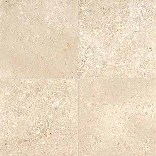 Daltile Marble 12 x 12 Polished Phaedra Cream Polished