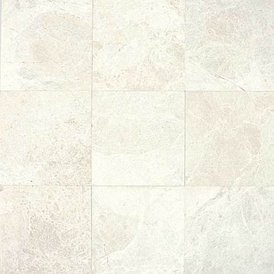 Daltile Marble 12 x 12 Polished White Cliff