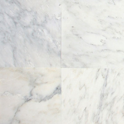 Daltile Marble 12 x 24 x 3/8 Polished First Snow M190 12241L