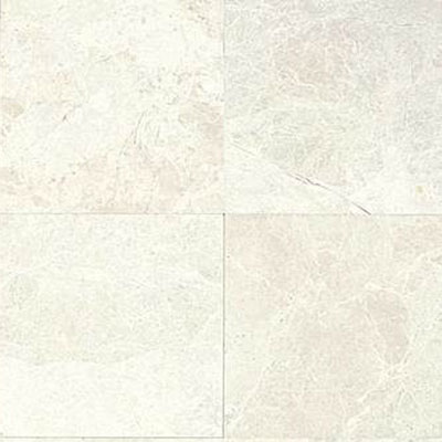 Daltile Marble 12 x 24 x 3/8 Polished White Cliff M105 12241L