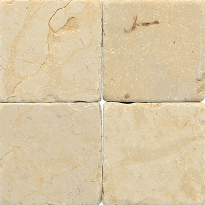 Daltile Marble 16 x 16 x 1/2 Tumbled Champagne Gold M760 1616TS1P