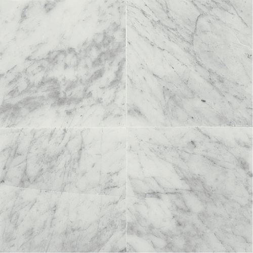 Daltile Marble 18 x 18 Honed Carrara White Honed