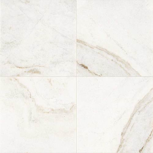 Daltile Marble 18 x 18 Honed Daphne White Honed