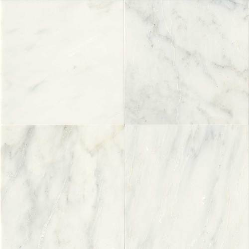 Daltile Marble 18 x 18 Honed First Snow Elegance Honed