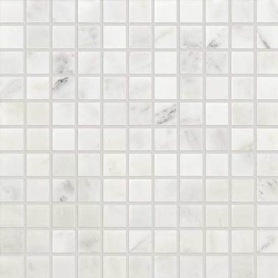 Daltile Marble 1 x 1 Mosaic Honed First Snow Elegance Honed