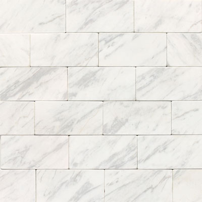 Daltile Marble 3 x 6 (All the other Marbles) Contempo White Tumbled M31336TS1P