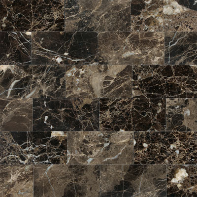 Daltile Marble 3 x 6 (All the other Marbles) Emperador Dark Honed M725361U