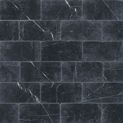 Daltile Marble 3 x 6 (All the other Marbles) Nouveau Nero Tumbled M31236TS1P