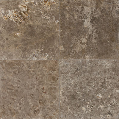 Daltile Marble 12 x 12 x 3/8 Antiqued Cafe Tobacco M759 12121N