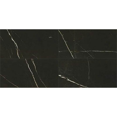 Daltile Marble Attache 12 x 24 Polished Nero
