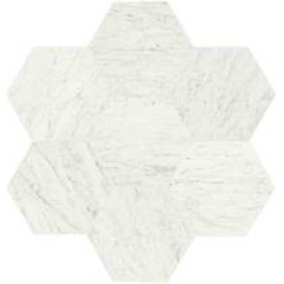 Daltile Marble Hexagon 18 x 21 Carrara White