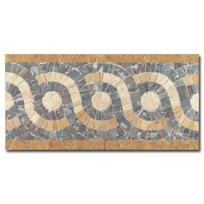 Daltile Medallions - Stone Borders Athena Border - Polished SB14612BDRMS1P