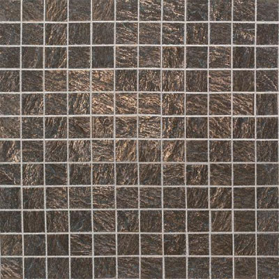 Daltile Metal Ages Mosaic 1 x 1 Clefted Bronze MA02 11MS1P2