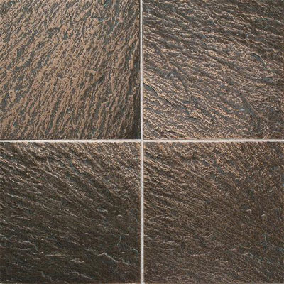 Daltile Metal Ages 6 x 6 Clefted Bronze MA02 661P