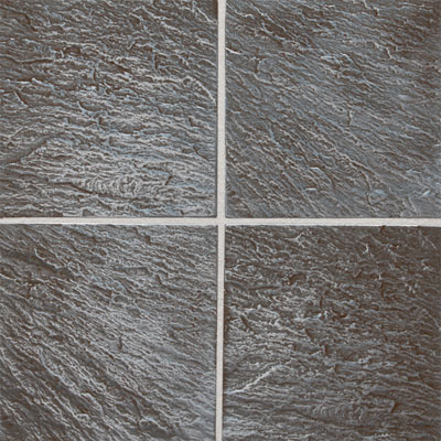 Daltile Metal Ages 6 x 6 Clefted Pewter MA01 661P