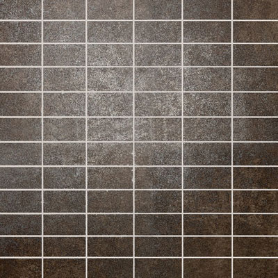 Daltile Metal Effects Mosaic 1 x 2(dropped) Brilliant Bronze ME02 12MS1P2