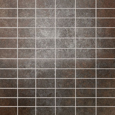 Daltile Metal Effects Mosaic 1 x 2(dropped) Shimmering Copper ME01 12MS1P2