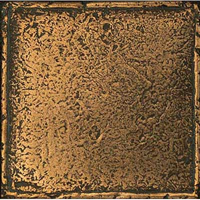 Daltile Metal Signatures Chateau 4 1/4 x 4 1/4 Aged Bronze MS11 441P