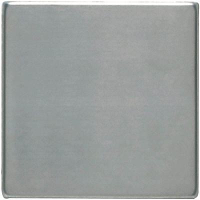 Daltile Metallica - Metal Tile 4x4 Field Tile Brushed Stainless Steel SS50 441P