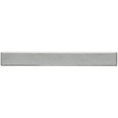 Daltile Metallica - Metal Tile Liner Brushed Stainless Steel SS50 1101P