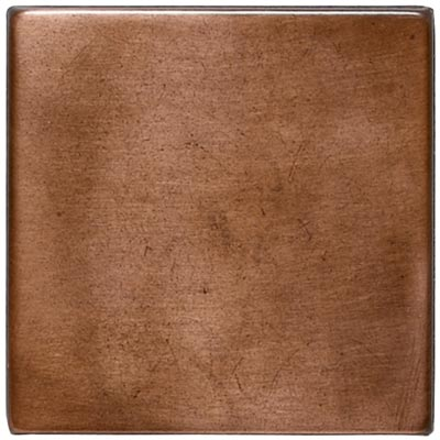 Daltile Metallica - Metal Tile Oxidized Copper 4 x 4 SS51 441P