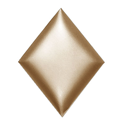 Daltile Metallurgy Diamonds 3 x 4 Bronze MT95 34DIA1P