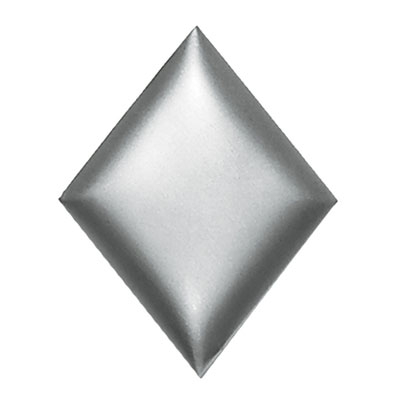 Daltile Metallurgy Diamonds 5 x 6 Pewter MT97 56DIA1P