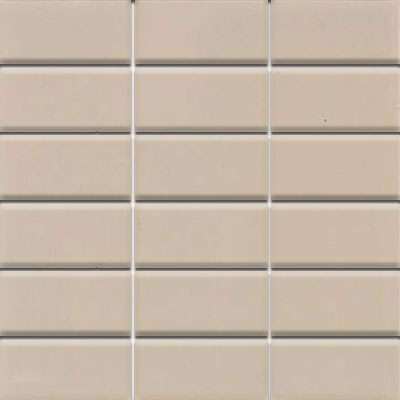Daltile Modern Dimensions Mosaics 2 x 4 Urban Putty Gloss 0161 24MS1P2