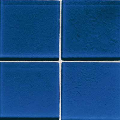 Daltile Molten Glass 4 1/4 x 4 1/4 Blue Hawaii MG07 441P