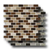 Mosaic Traditions 3/4 x 1 1/2 Brick Joint Mosaic