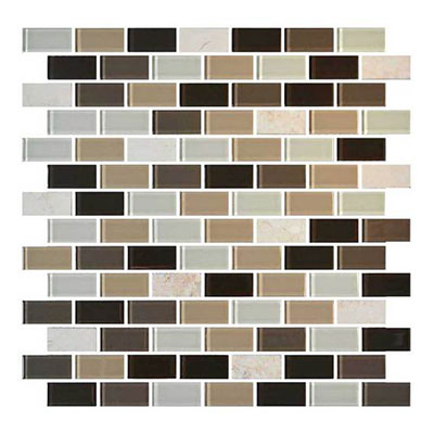 Daltile Mosaic Traditions 3/4 x 1 1/2 Brick Joint Mosaic Zen Escape